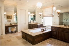 16_Master_Bath_travertine_Wooden_Tub_Surround_Santa_clarita_Valley_Santa_Barbara_Ventura
