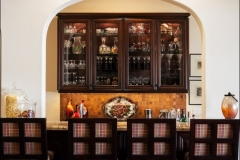 4_Wooden_Bar_Stools_Copper_Backsplash_bar_Santa_clarita_Valley_Santa_Barbara_Ventura