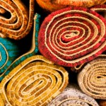 picture of carpet rolls
