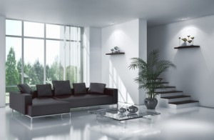 Living room natural lighting santa clarita valley interior designer