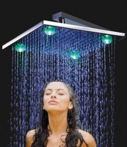 LED shower fixture santa clarita valley interior designer
