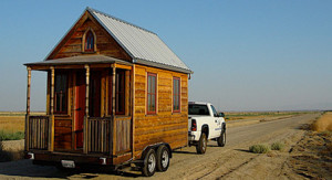 mobile tiny home on wheels
