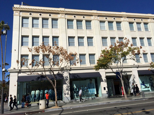 1929 Junipher Building, Santa Monica Blvd. street view.